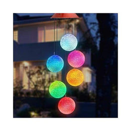 Solar Powered Crystal Ball Light foreverfly cheap garden ornaments - solar lights - decorative outdoor - fairy