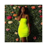 Spaghetti Strap Backless Bodycon Bandage Mini Dress ForeverflyStore backless - clothing - Clothing_dresses