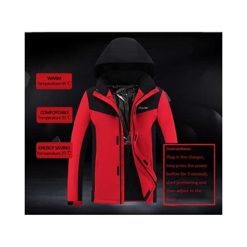 Thermostat Electric Heated Jacket Body Warmer battery heated jacket body warmer clothing coats