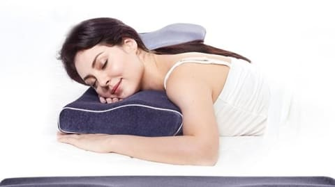 Art on your Pillow Save your Neck and Stop Snoring New Design Orthopedic Neck Support Bed Pillow