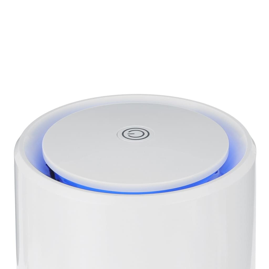 Warmtoo Air Purifier for USB Home HEPA Filters Negative Ion Generator Compact Desktop Filtration Remove Formaldehyde Smoke Dust