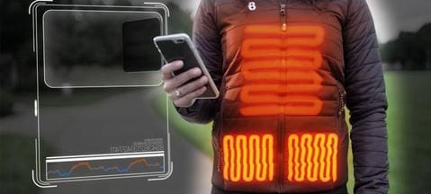 Outdoor USB Infrared Heated Vest