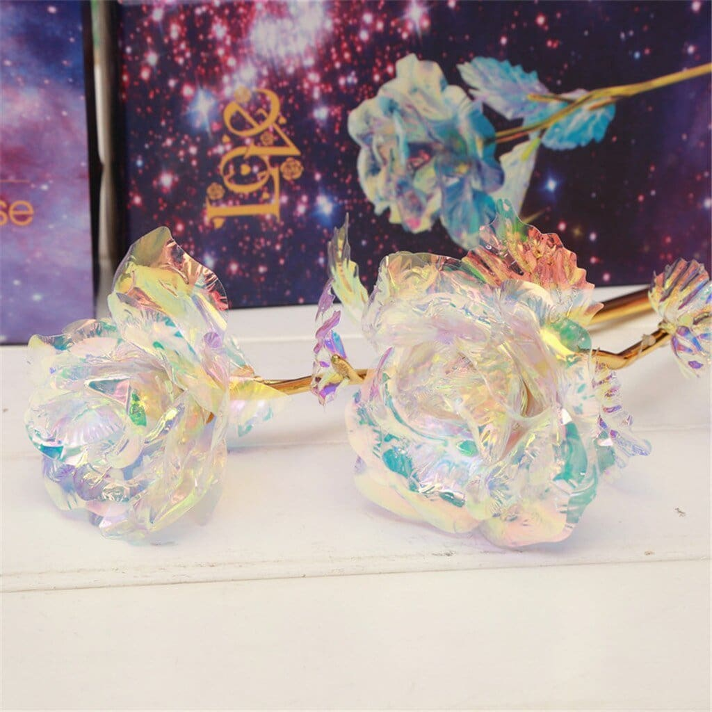 Everlasting Crystal Galaxy Rose