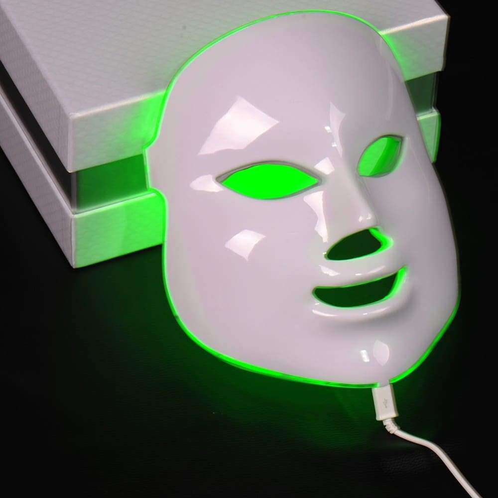 DermaLight Face Mask 7 Colours Light Photon LED Electric Facial Mask