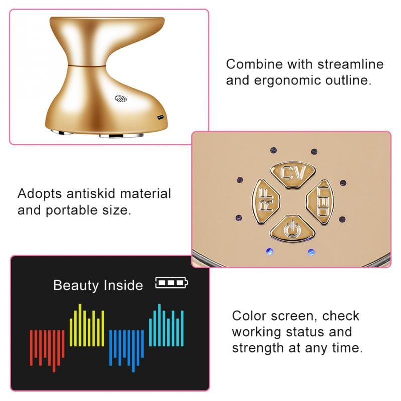 3D RF Ultrasound Face and Body Slimming Device