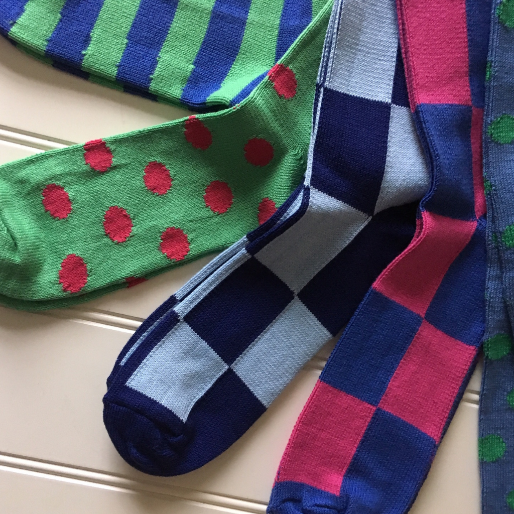 Be brave and bold with stylish sock choices for Summer 2019
