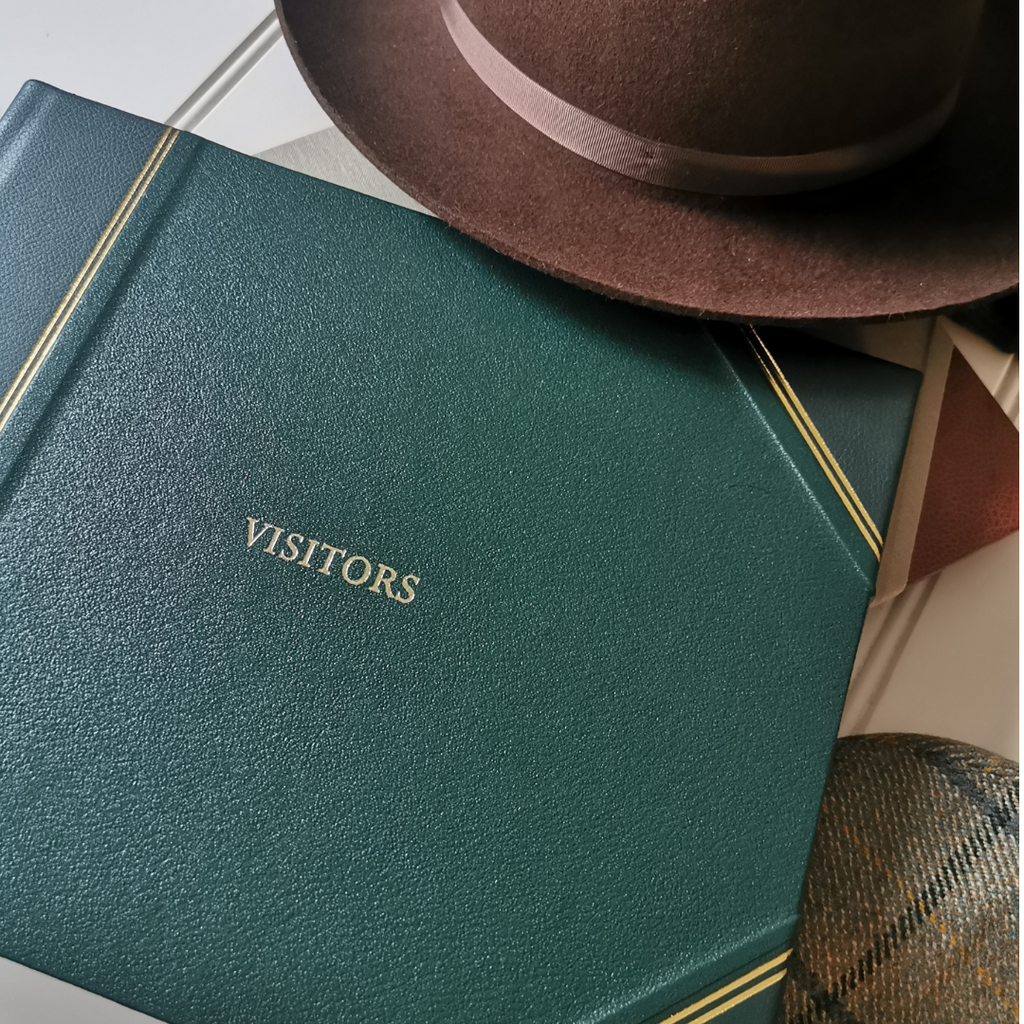 Long Live the Visitors Book - why we all love these leather-bound journals.