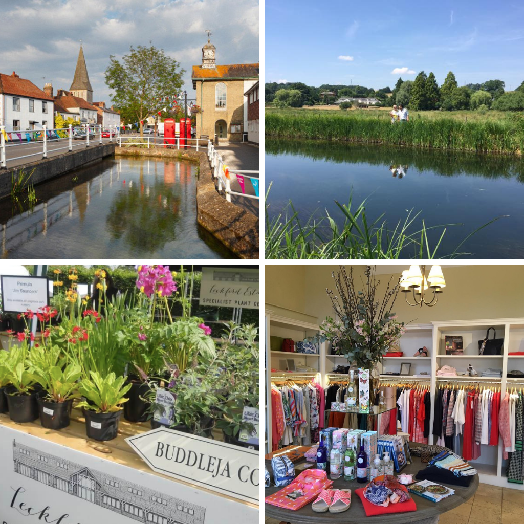 Mini Guide to Stockbridge, Hampshire - the first of our guides to the towns we call home.