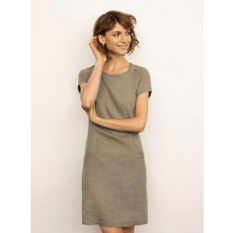 Part Two Aundreas Linen Tunic dress