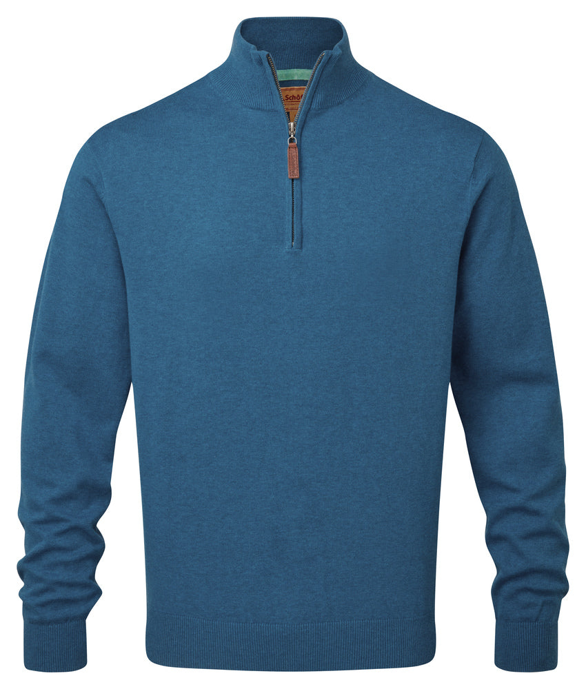 Schoffel - Pima Cotton 1/4 Zip