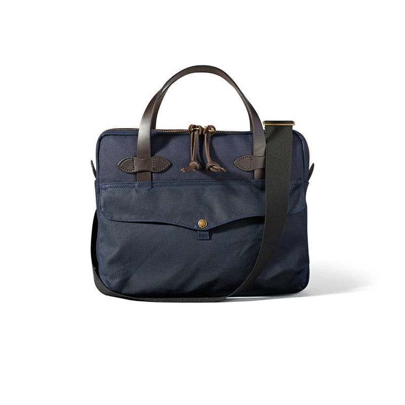 Filson Tablet Briefcase Front - Navy