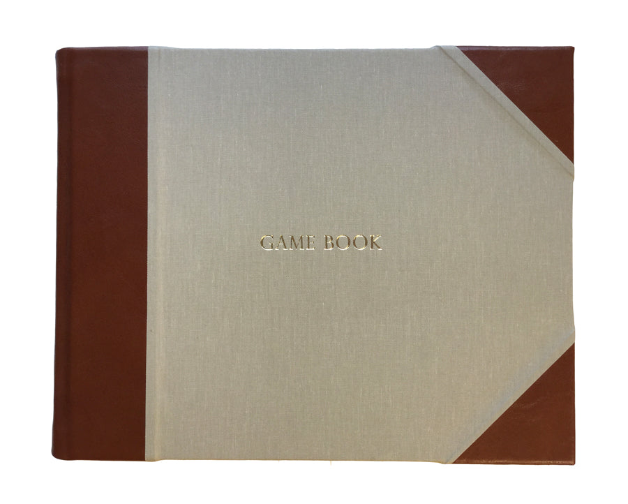Game Book Tuscan - Tan