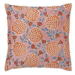 Bungalow Embroidered Pomegranate cushion