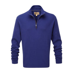Schoffel Cotton French Rib 1/4 zip Jumper