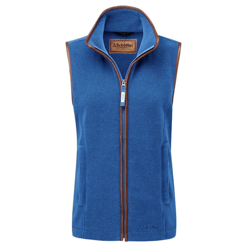 Schoffel Ladies Lyndon Fleece Gilet Cobalt