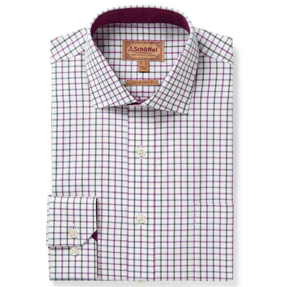 Schoffel Milton Tailored Fit Shirt