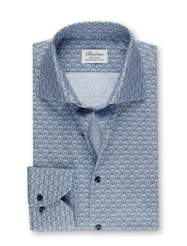 Stenstroms Tile Design Fitted Shirt