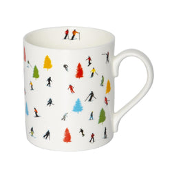 Tree Skiing Mug