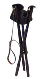 Tripod Leather Shooting Stool