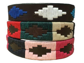Argentine Leather Dog Collar