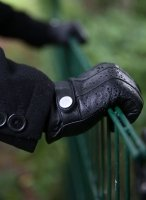 Dents Water Resistant Touchscreen Leather Gloves