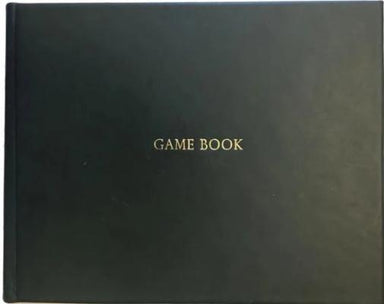 Game Book Full Leather Green