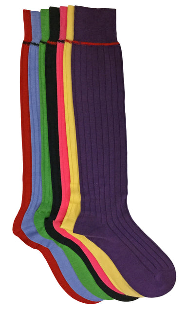 Knee Length Socks with Banding