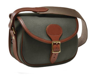 Loden Green with Tan leather trim