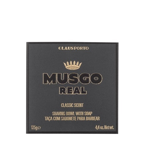 Musgo Real Shaving Bowl with Soap