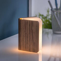 Gingko Rechargeable Book Light Walnut