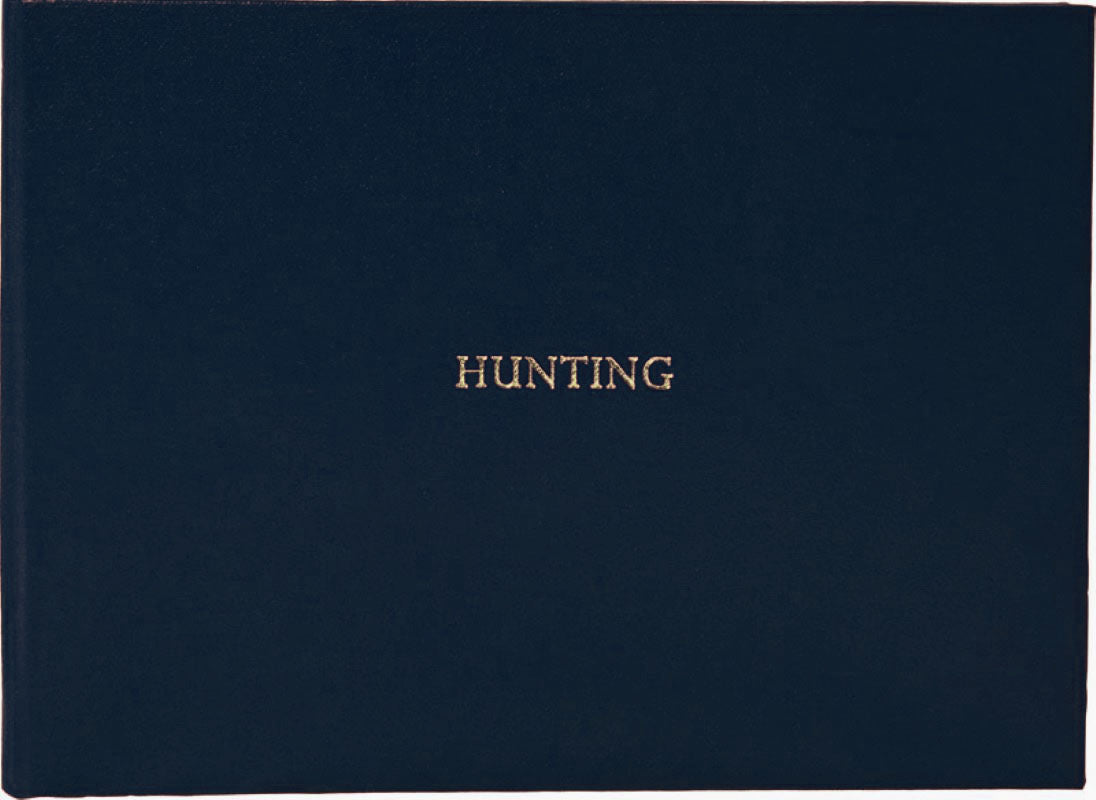 Hunting Book Rexine