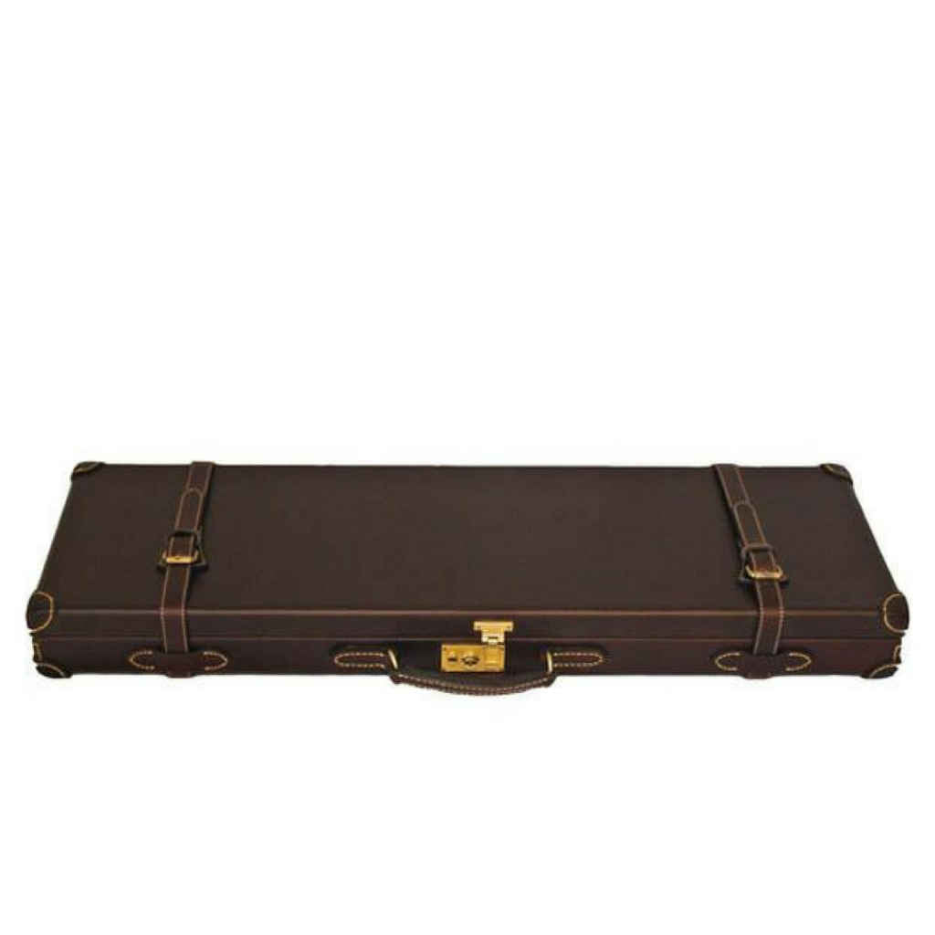 Guncase - Leather With Canvas Cover