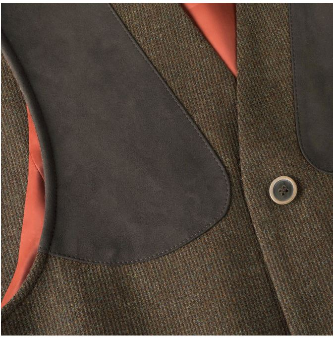 Musto Stretch Technical Tweed Waistcoat