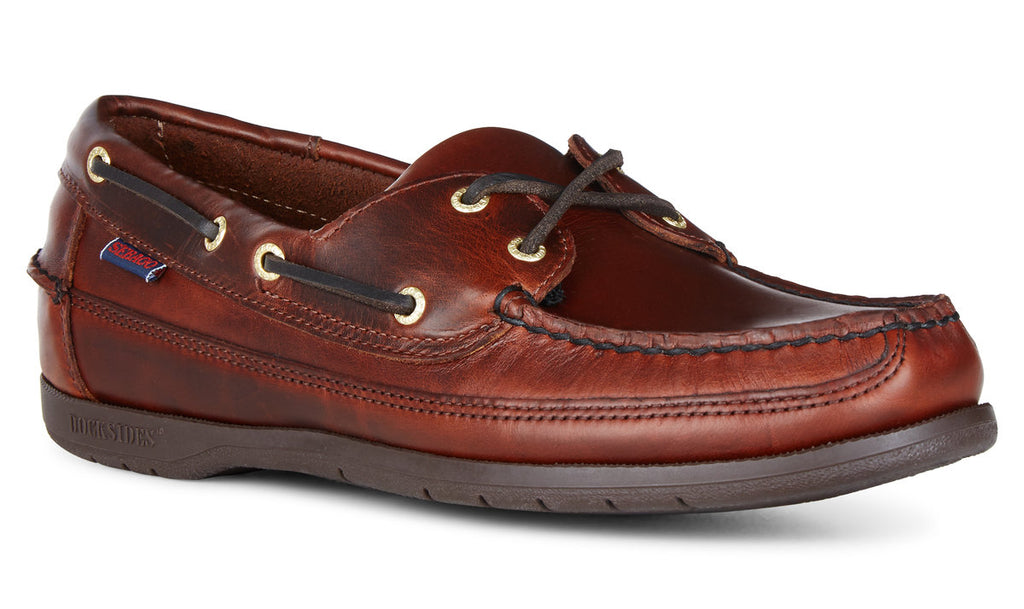 Sebago Schooner Docksides Brown