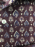 Ingram Shirt Leaf Pattern