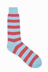 Lightweight Cotton Stripe Ankle Socks