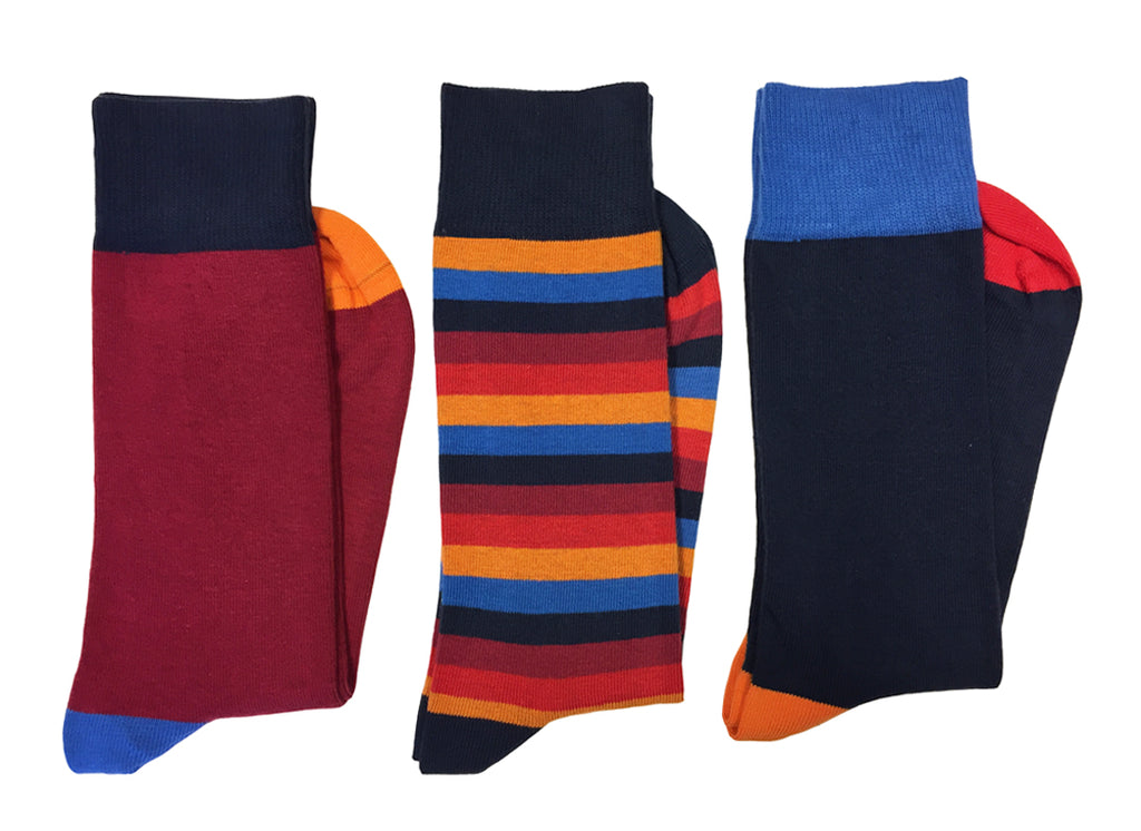Roxtons Classic Ankle Socks Tri Pack