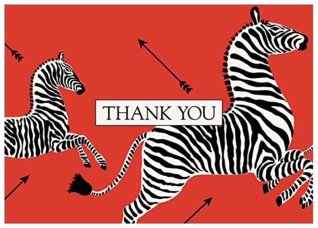 Thank You Notecards  - Pack of 8