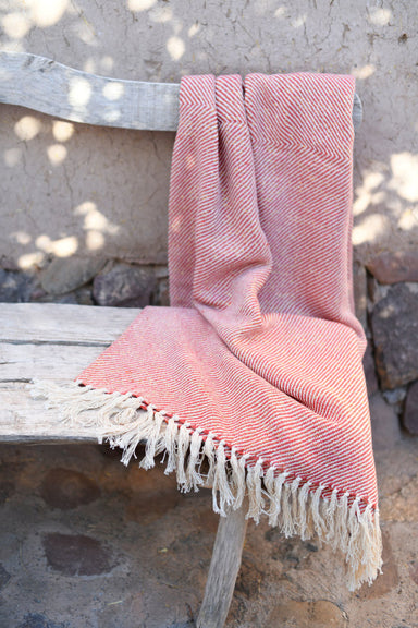 billy cotton sparkle throw Coral