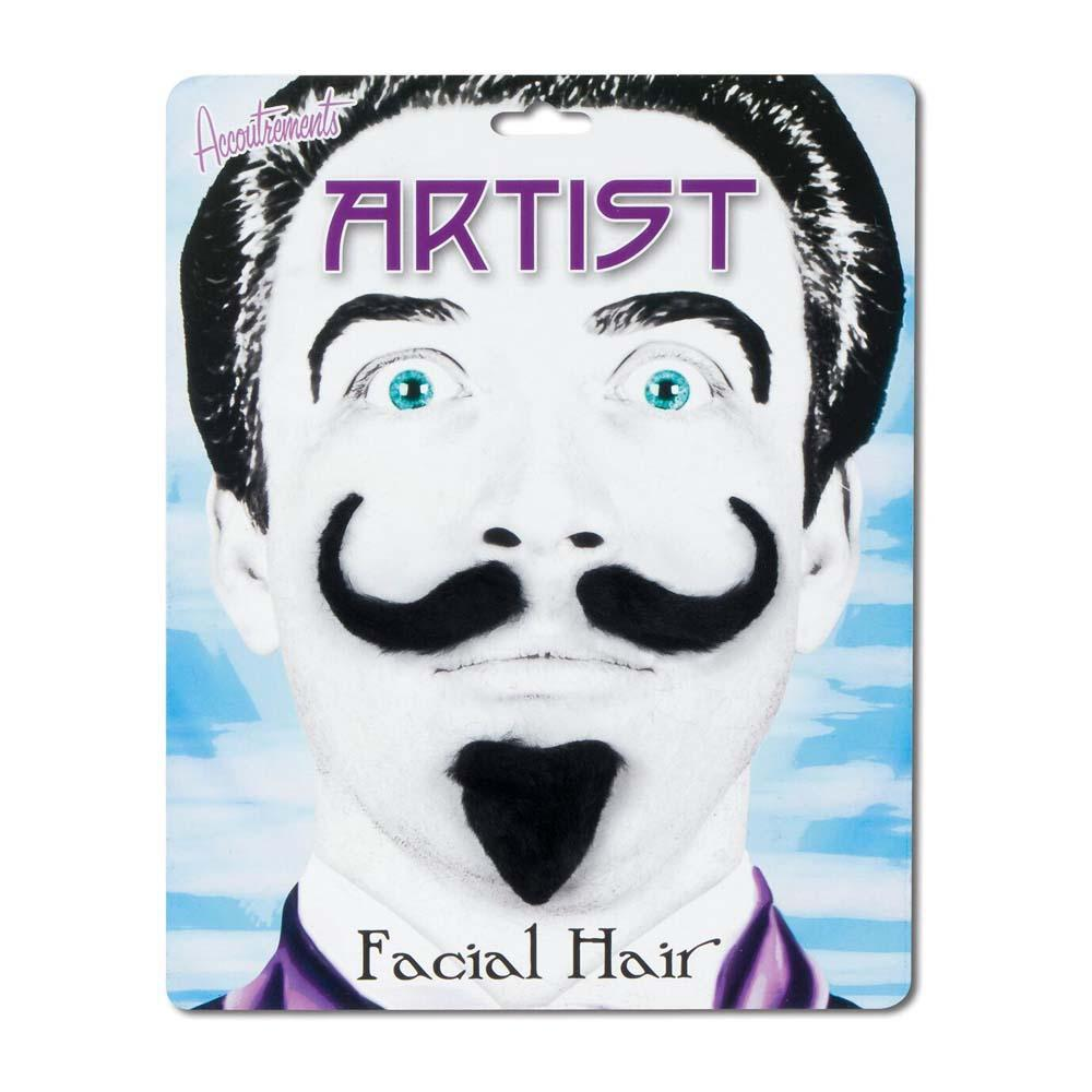 Artist Facial Hair Set by Archie McPhee - Shop GagWorks.com
