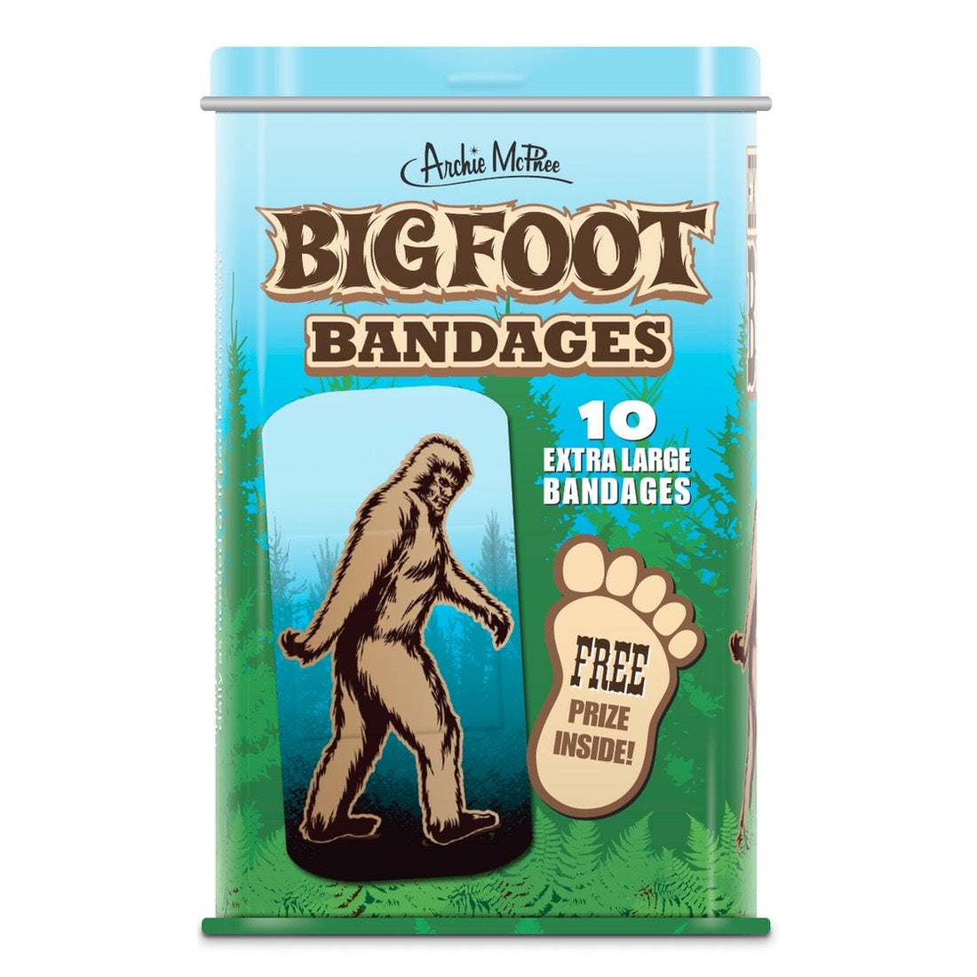 Bigfoot Bandages by Archie McPhee - Shop GagWorks.com