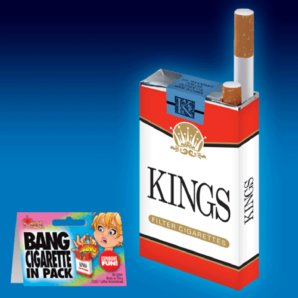 Bang Cigarette Pack Prank