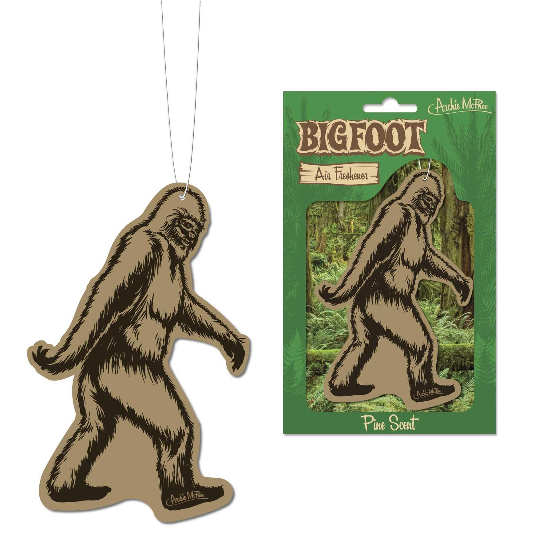 Bigfoot Air Freshener by Archie McPhee - Shop GagWorks.com