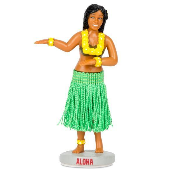 Dashboard Hula Girl by Archie McPhee - Shop GagWorks.com