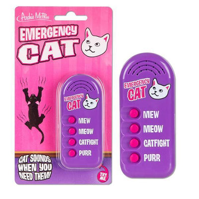 Emergency Cat Button by Archie McPhee - Shop GagWorks.com