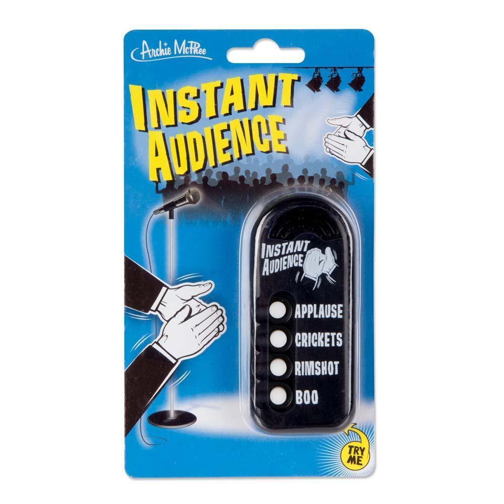 Emergency Instant Audience Button