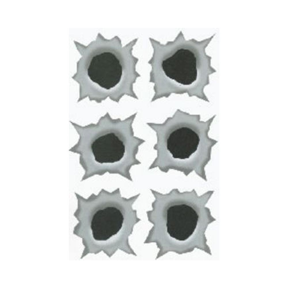 Fake Bullet Holes Prank .50 Caliber Stickers by HD Illusions - Shop GagWorks.com