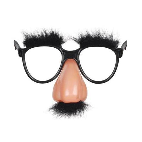 Fuzzy Nose With Glasses by Loftus - Shop GagWorks.com
