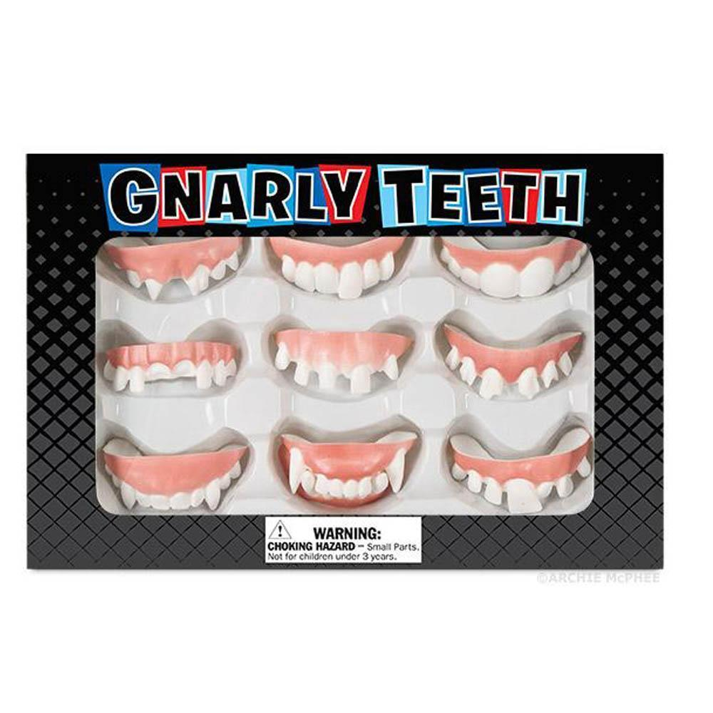 Gnarly Teeth Set by Archie McPhee - Shop GagWorks.com