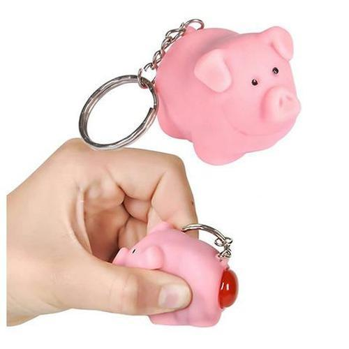 Naughty Pig Key Chain by Rinco - Shop GagWorks.com